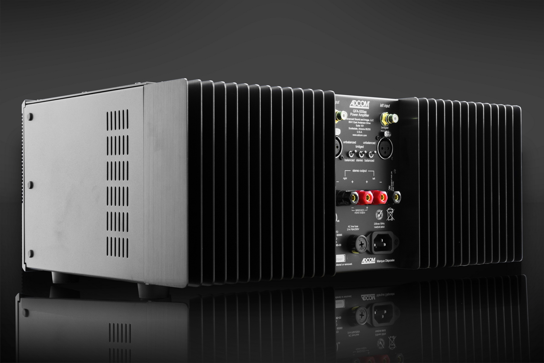 ADCOM High performance audio amplifiers, pre-amplifiers and tuners